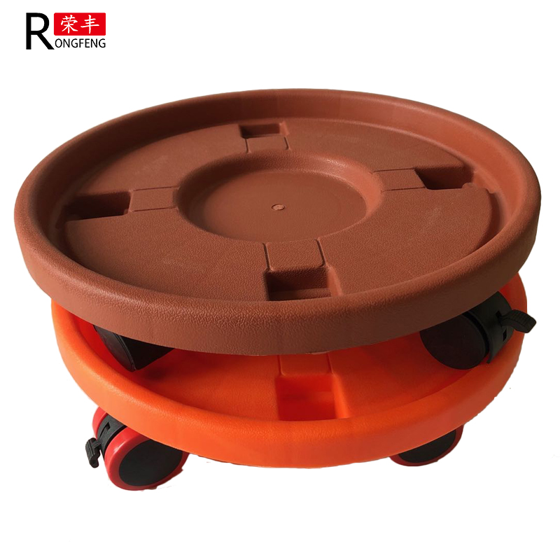 Wheels for flower pot with/without brake