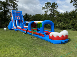 Inflatable Patriot Slide Double Lane For Adults