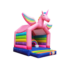 Unicorn Inflatable Bouncy Combo For sale