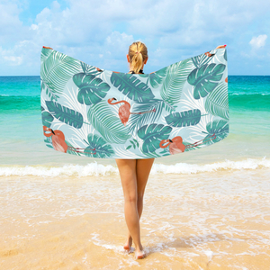 Microfiber Cartoon Printed Beach Towel Beach Towel, Soft And Skin-friendly, To Figure Custom.