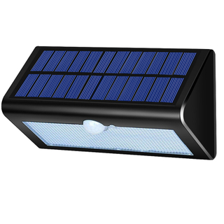 Waterproof Solar Powered LED Solar Garden Lamp Motion Sensor 38 LED Wall Decoration Light