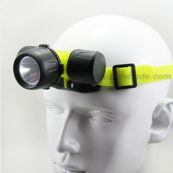 Diving 3 Watt Power LED Headlamp