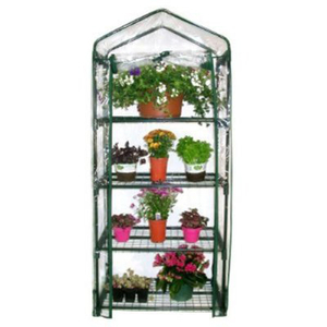 LG5303 Metal Frame Transparent Plant Flower Greenhouse