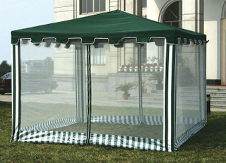 Gazebo Tent With Mosquito Net Wall