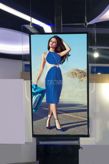 "49"" ULTRA SLIM DOUBLE SIDED DIGITAL SIGNAGE"