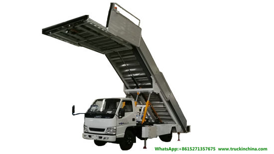 Aircraft Passenger Stairs for Airport Passenger Boarding (ISUZU. FOTON. JMC. DONGFENG Diesel or Electric Power Aviation Stairway)