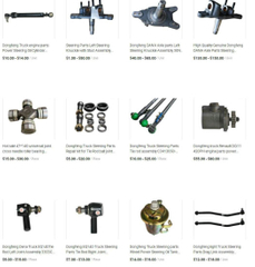 Dongfeng Truck Parts (Steering, Truck Valves)