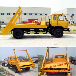 5~10ton Swing Arm Garbage Truck Skip Loader