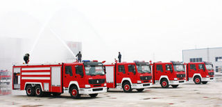Sinotruk HOWO 6X4 Fire Fighting Truck/ Fire Engine Truck with Water 15000L Tank