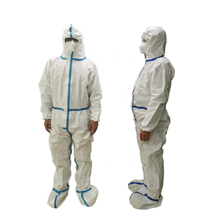 Disposable Virus Protective Clothing, Disposable Isolation Suit
