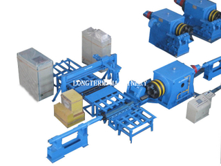 CNG cylinder hot spinning machine for bottom closing