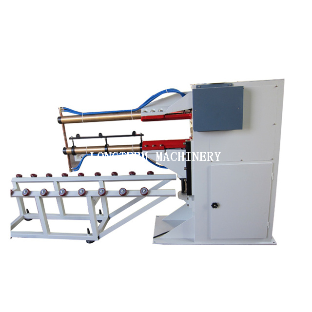 Semi-automatic drum body welding machine
