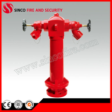 "4"" BS750 2 Way Outdoor Ground Pillar Fire Hydrant"