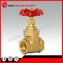 Female Thread Brass Gate Valve