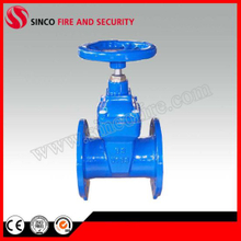 Pn16 Resilient Seated Non Rising Stem Wedge Gate Valve