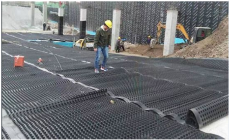 Earthwork Products Composite Drainage Board in China