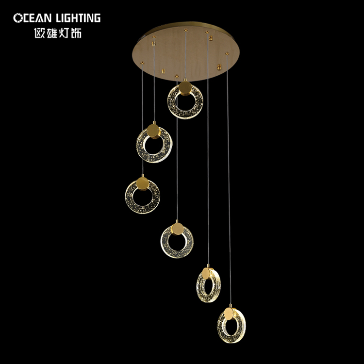 gold luxury modern led hotels crystal small chandelier lighting