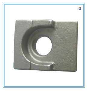rail clamp for railway sleeper rail clip railway part railway clamp plate