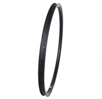 FREE SHIPPING 1 PC 650B CARBON RIMS 30MM WIDTH TUBELESS REINFORCED RIMS