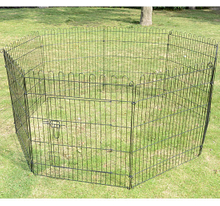 Dog Wire Fence with 8 panels