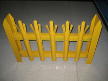 Galvanized and PVC coated Metal Guard Palisade Fence
