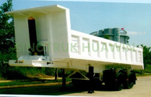 SINOTRUK 2 Axles Tipper Semi Trailer