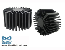 SimpoLED-BRI-160100 for Bridgelux Modular Passive LED Cooler Φ160mm