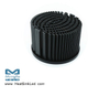 xLED-TRI-8050 Pin Fin LED Heat Sink Φ80mm for Tridonic