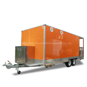 Mobile Food Trailer Customized Small Box Food Table Stainless Steel (All Window One Window, Two Window) Mobile Food Truck Design