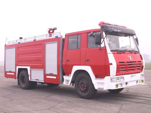 S2000 Shacman Fire Truck Duble Cabin Water Tank 8000L