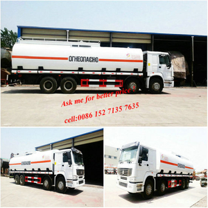 HOWO 8X4 Crude Oil Road Tanker Insulated