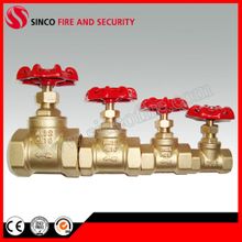 "1/2"" to 4"" NPT or Bsp Thread Brass Gate Valve"