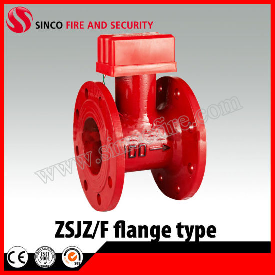 Flange Type Water Flow Detector