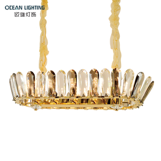 Pendant Crystal Lamp Modern Lighting Pendant Lamp Crystal Large Hanging Crystal Pendant Lamp