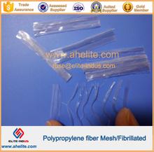 fabrillated pp polypropylene Fiber mesh