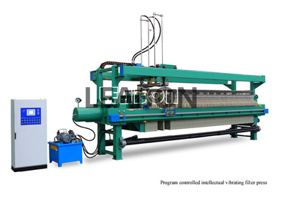 Filter Press with Cloth Washing and Shaking System for sale