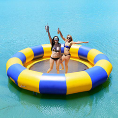 Durable Inflatable Water Trampoline Jumping Matt for Water Games