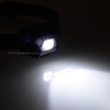 White and Red Dual Light LED Headlight with Sensor