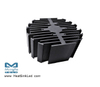 eLED-LUM-9550 LumiLEDs Modular Passive Star LED Heat Sink Φ95mm