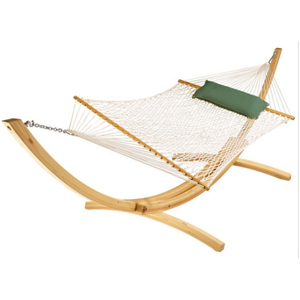 Wooden Bar Polyester Hammock