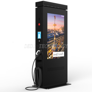 Weatherproof Interactive HD Stand Alone 42 inch outdoor display LCD advertising digital signage