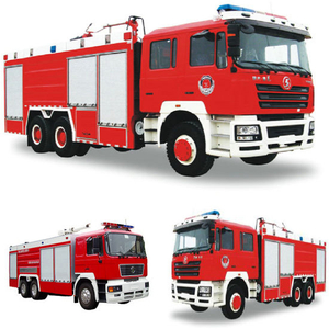 Shacman 6X4 / 6X6 All Whell Drive Fire Truck Duble Cabin Sale