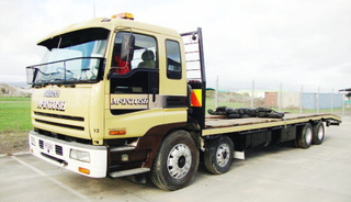 Isuzu 8X4 Flatbed Truck Brand New Vc46 Isuzu Engine 6uz1-Tcg40 for Sale