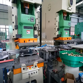 Drum Cover & Bottom Manufacturing Machine, Drum Cover