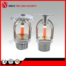 57 Degree Glass Bulb Fire Sprinkler for Fire Fighting System