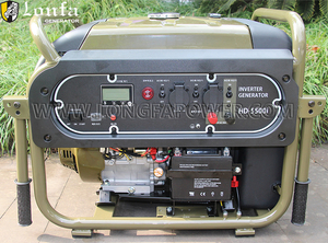 Professional Cold-resistant Military 7kVA 190F Gasoline Digital Inverter Generator Permanent Magnetic Brushless