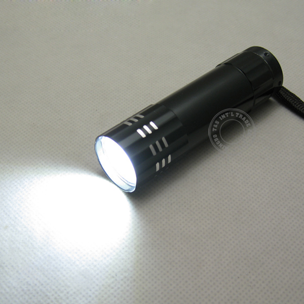 Aluminium COB LED Flashlight