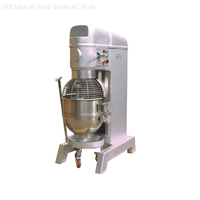 Stainless Steel 80L Kitchen Machine Food Mixer ZB80B