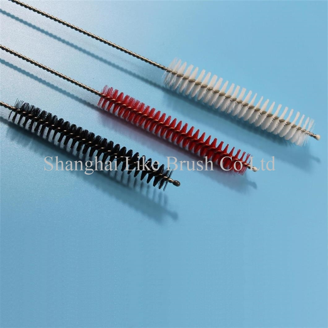 Medical Tube Cleaning Brushes Nylon Bristle