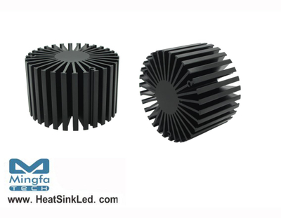 SimpoLED-EDI-8150 for Edison Modular Passive LED Cooler Φ81mm